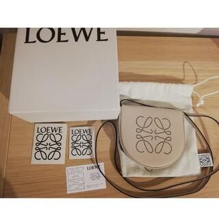 LOEWE - 【新品】LOEWEロエベ HEELヒールポーチスモール ライトオート