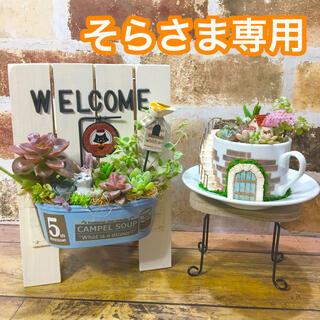 ウェルカムボード(ねこのティールーム)妖精の庭(coffee cup)(その他)