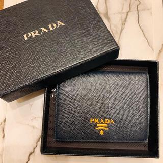 PRADA - PRADA 二つ折り 財布 サフィアーノ