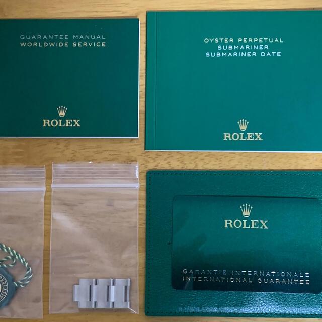 ROLEX(ロレックス)の【美品】 ロレックス サブマリーナ 126610LV グリーンサブ 付属品完備 メンズの時計(腕時計(アナログ))の商品写真