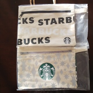 Starbucks Coffee - スターバックス 2020 ホリデーキャンバスポーチ 2枚組