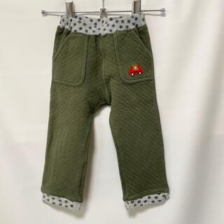 ホットビスケッツ(HOT BISCUITS)のミキハウス ホットビスケッツ  パンツ 90 緑(パンツ/スパッツ)