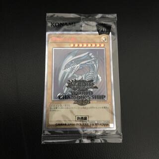 ユウギオウ(遊戯王)の未開封 wcs2018 青眼の白龍 20thシークレットレア(シングルカード)