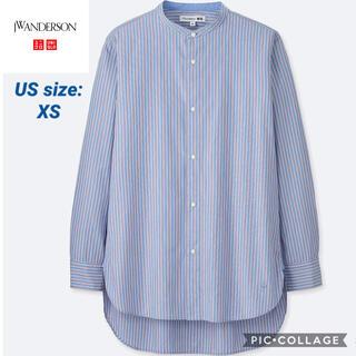 ジェイダブリューアンダーソン(J.W.ANDERSON)の✔︎完売品 JW Anderson Uniqlo EFCコットンブロードシャツ(シャツ)