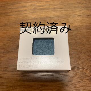 シュウウエムラ(shu uemura)のシュウウエムラ プレスド アイシャドー レフィル ME ソフトブルー 655A((アイシャドウ)