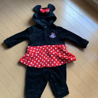 Disney - ロンパース つなぎ ミニー 女の子 90 きぐるみ ディズニー