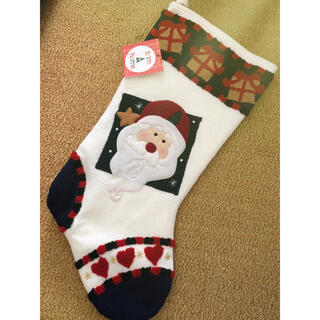ハワイアン雑貨   ニットのクリスマスブーツ(その他)