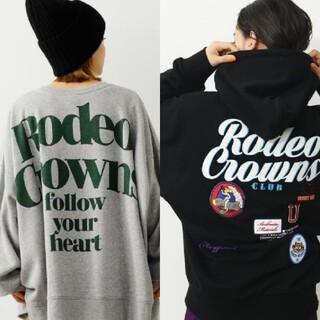 ロデオクラウンズワイドボウル(RODEO CROWNS WIDE BOWL)のRODEO CROWNSあれこれ(パーカー)
