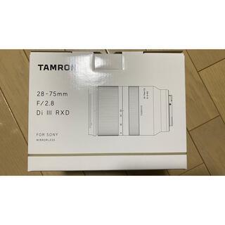 タムロン(TAMRON)の28-75mm F/2.8 Di III RXD Model A036(レンズ(ズーム))