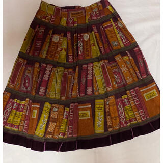 JaneMarple - Jane Marple Jane's bookcaseのスカート