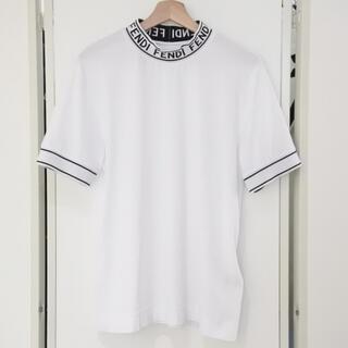 FENDI - フェンディ 20AW 新作 オンライン掲載 半袖 ハイネック Tシャツ XS