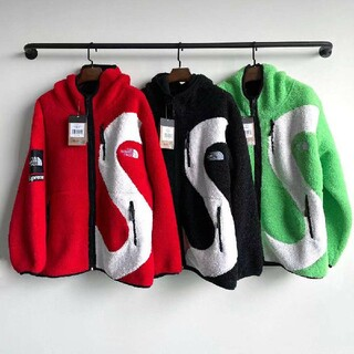 Supreme - 20FW Supreme TNF S Logo Hooded Fleece Ja