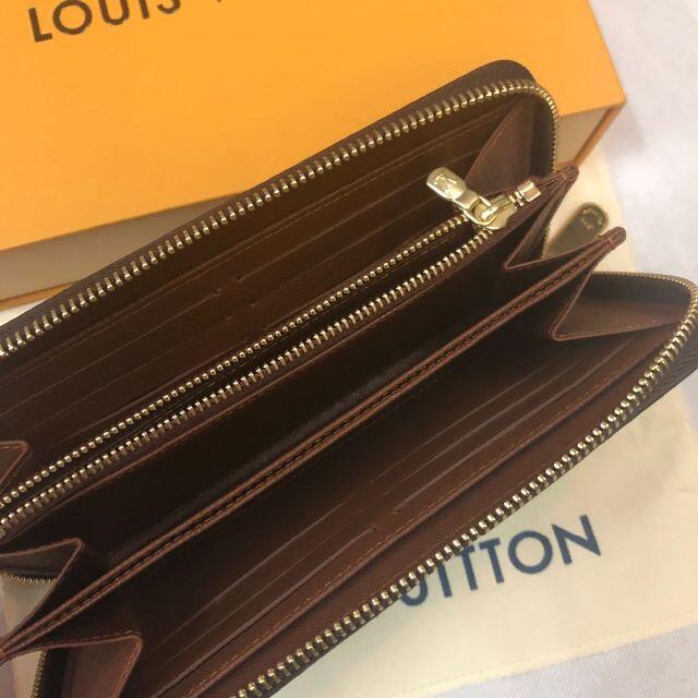 LOUIS VUITTON(ルイヴィトン)の新品同様 ルイヴィトン モノグラム ジッピーウォレット 長財布 M42616 レディースのファッション小物(財布)の商品写真