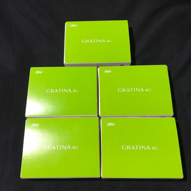 京セラ(キョウセラ)のきんも様専用 グラティーナ4G kyf31 白4台 緑5台 合計9台 セット スマホ/家電/カメラのスマートフォン/携帯電話(携帯電話本体)の商品写真