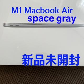 マック(Mac (Apple))のApple MacBook Air Apple M1 Chip スペースグレイ(ノートPC)