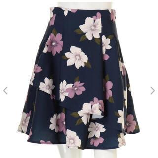MIIA - MIIA 花柄スカート