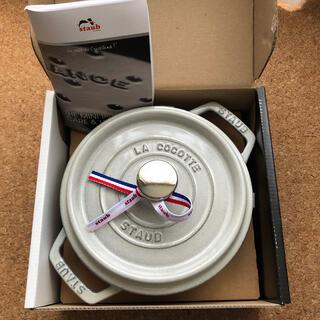 ストウブ(STAUB)のストウブ ピコ・ココット ラウンド 鍋 18cm(鍋/フライパン)