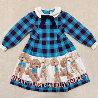 Shirley Temple - シャーリーテンプル プードル ワンピース 100