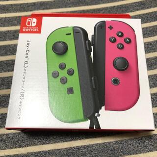 Nintendo Switch - Joy-Con ネオングリーン/ネオンピンク 任天堂switchコントローラー