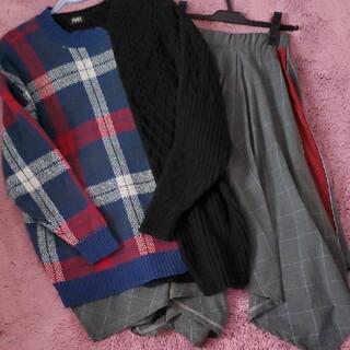 パメオポーズ(PAMEO POSE)のパメオポーズ ニット&スカート(ニット/セーター)