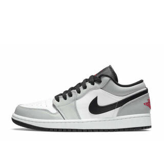 NIKE - NIKE AIR JORDAN 1 LOW LIGHT SMOKE GREY