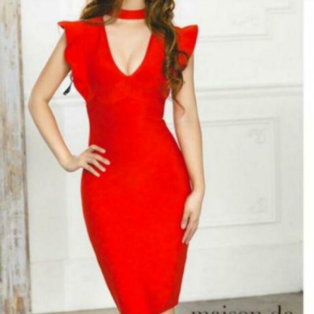 AngelR(エンジェルアール)のAngel 赤 ドレス レディースのフォーマル/ドレス(ナイトドレス)の商品写真