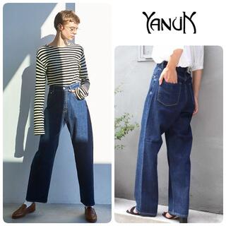 YANUK - 定価26400円 新品 ヌーク COLLEEN ハイライズワイドデニム 23