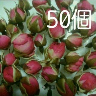 50  ローズバッド  ミニ薔薇のつぼみたち(ドライフラワー)