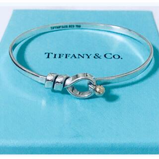 Tiffany & Co. - Tiffany&Co. ティファニー フック&アイ  バングル