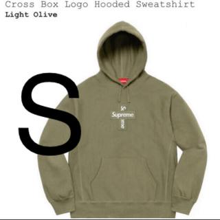 Supreme - シュプリーム Cross Box Logo Hooded Sweatshirt
