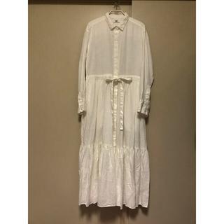 ユニバーサルティシュ リネンガーメントダイシャツドレス(ロングワンピース/マキシワンピース)