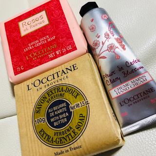 L'OCCITANE - L'OCCITANE 石鹸、バスソープ、ハンドクリーム
