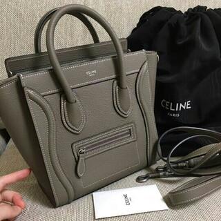 celine - CELINE セリーヌ ラゲージ ショルダーバッグ