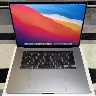 マック(Mac (Apple))のMacbookPro 16インチ(2019年モデル) MVVJK2J/A(ノートPC)