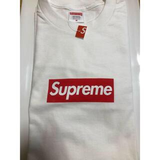 Supreme - Mサイズ Supreme Box Logo L/S Tee White 白 特価