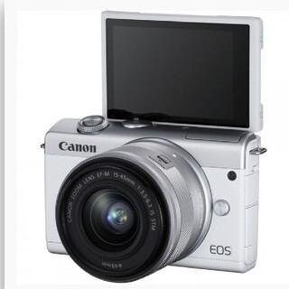 Canon - 【新品】EOS M200 EF-M15-45 レンズキット(白)