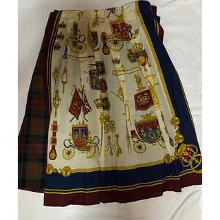 JaneMarple - royal parade タータンチェックスカート
