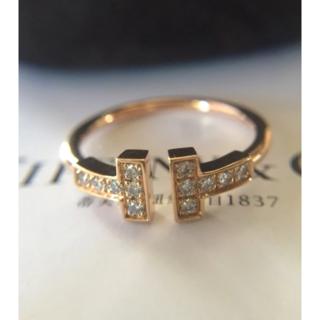 Tiffany & Co. - ティファニー Tワイヤー リング