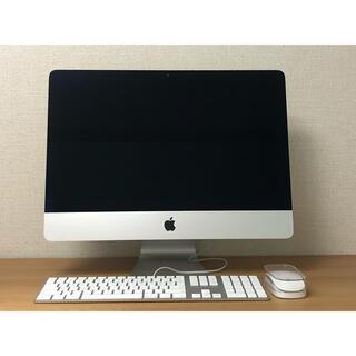 マック(Mac (Apple))のiMac 21.5 インチ Intel core i5  大容量1TB 良品(デスクトップ型PC)
