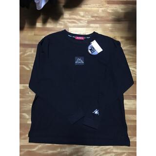 kappa ロンT/黒