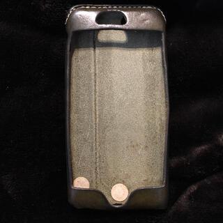 トチギレザー(栃木レザー)のHUKURO iPhone6s ケース カバー グリーン(iPhoneケース)