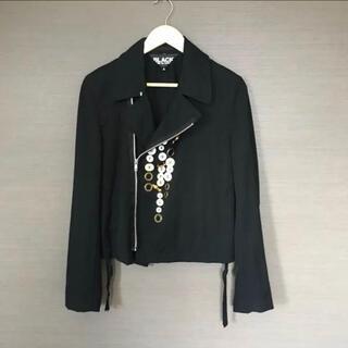 コムデギャルソン(COMME des GARCONS)のブラックコムデギャルソン ジャケット(テーラードジャケット)