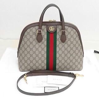 Gucci - GUCCI GGミディアム トップハンドルバッグ