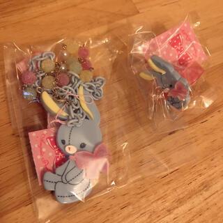 Angelic Pretty - angelic pretty bunny toy ネックレスとリング サックス