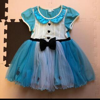 Disney - ディズニー プリンセス 不思議の国のアリス チュール ドレス ワンピース 100
