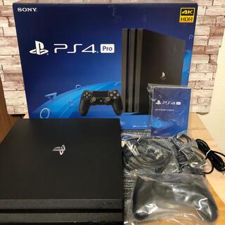 PlayStation4 - PlayStation4 Pro 1TB CUH-7100B 美品!