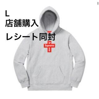 SUPREME CROSS BOX LOGO hooded sweatshirt