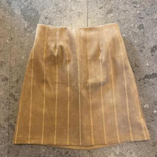 アルシーヴ(archives)のarchives BEIGE スカート(ひざ丈スカート)