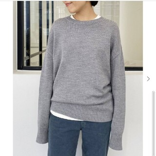 L'Appartement DEUXIEME CLASSE - L'Appartement GENTLEMAN KNIT グレー