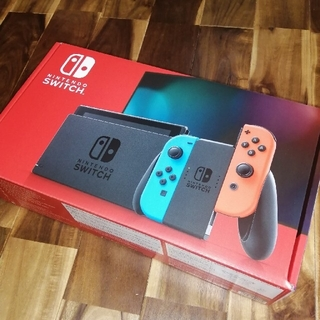 Nintendo Switch - 任天堂switch スイッチ 本体 ネオン ニンテンドウ 新品・未開封